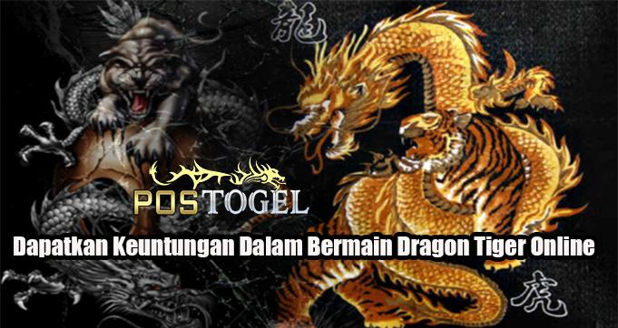 Dapatkan Keuntungan Dalam Bermain Dragon Tiger Online